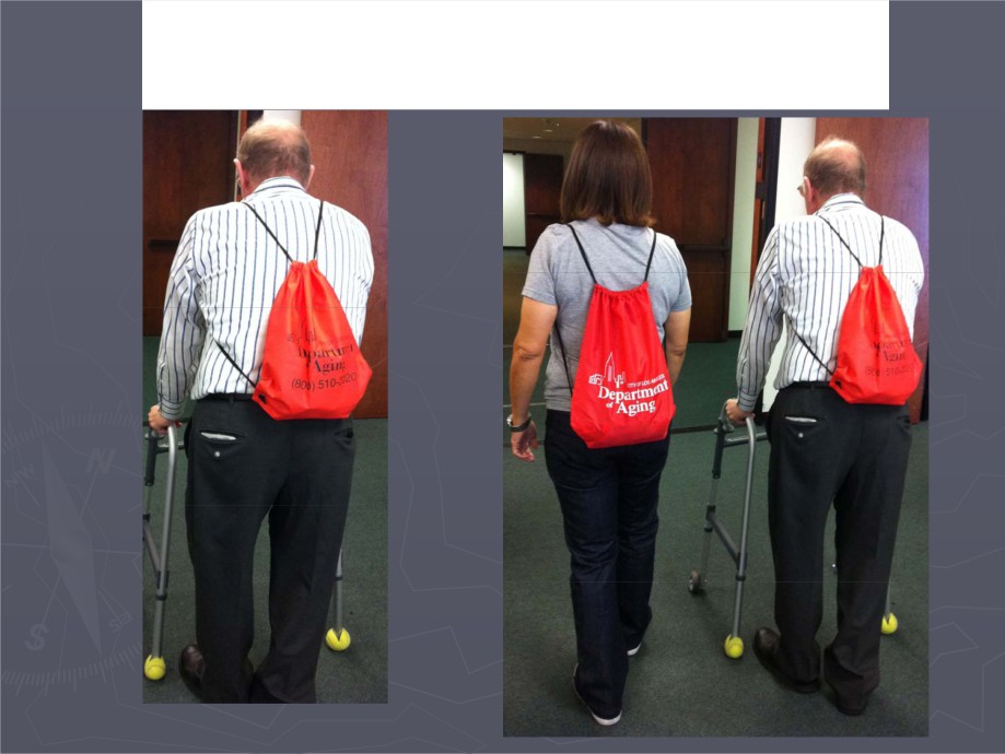 Picture of two people wearing Go-Kits bags on their back